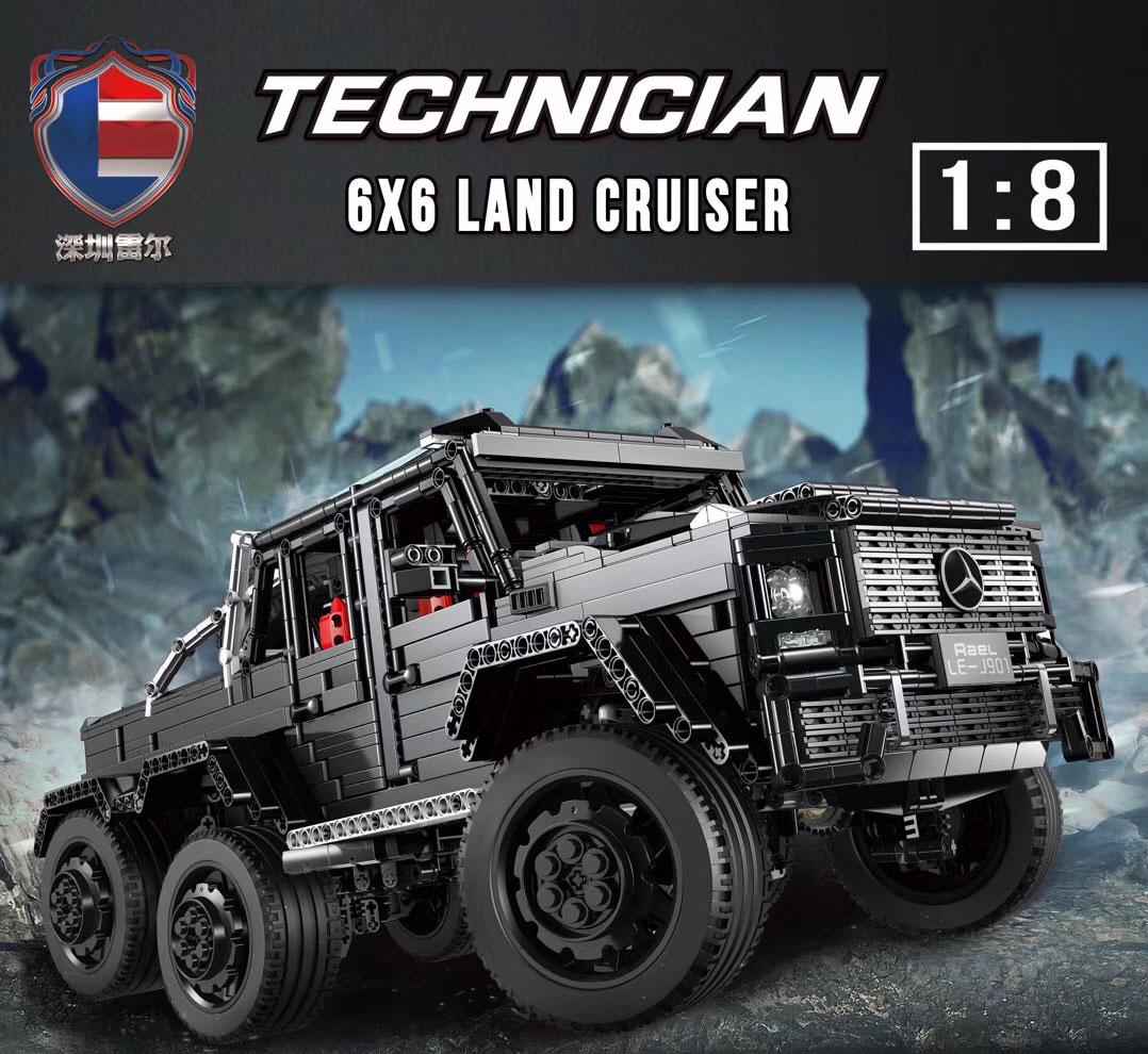Custom Technic J901 Siberia G63 Off-Road Vehicle Building Bricks Toy Set 3300 Pieces