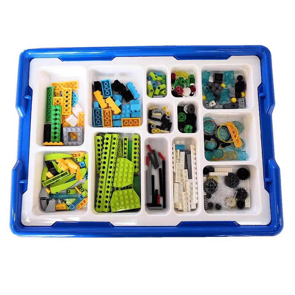 Robotics Education STEM Construction Building Toy Set 280 Pieces Compatible With Wedo Model 45300