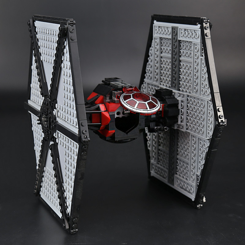 CUSTOM 05005 First Order Special Forces TIE Fighter Building Bricks Set