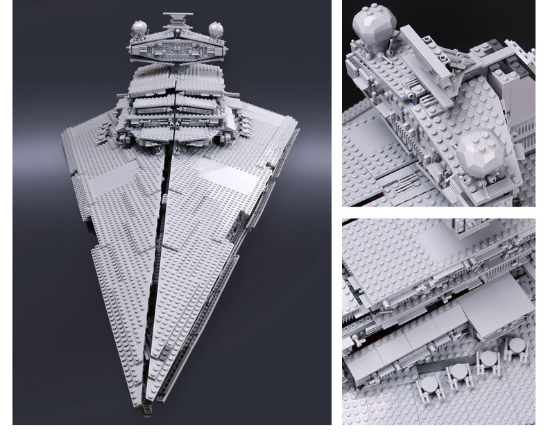 CUSTOM 05027 Building Blocks Toys Imperial Star Destroyer Building Brick Sets
