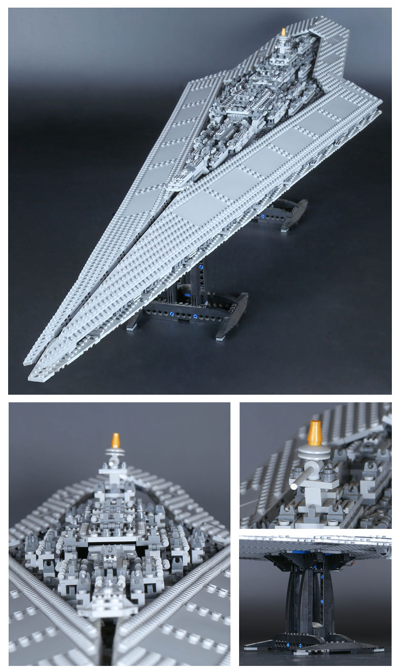 CUSTOM 05028 Building Blocks Star Wars Super Star Destroyer Building Brick Sets