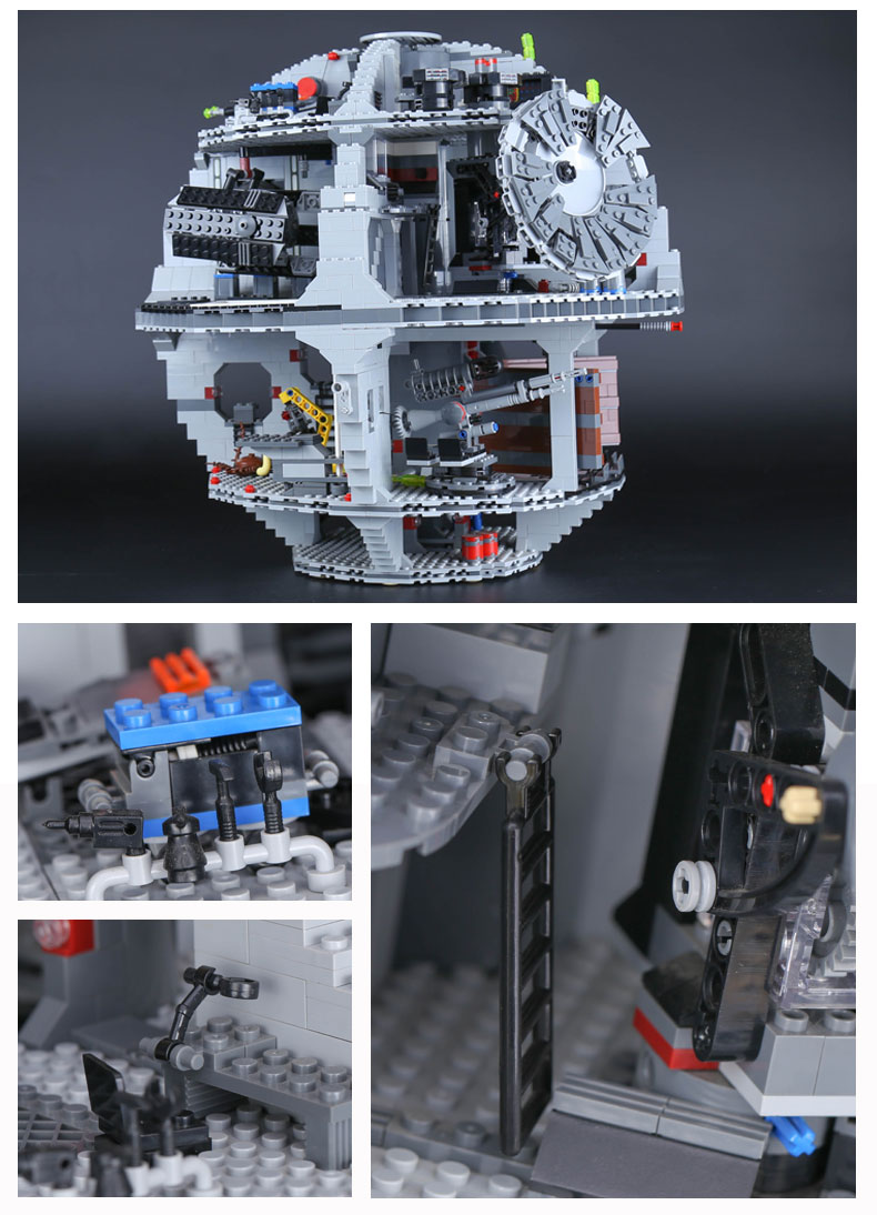 CUSTOM 05035 Building Blocks Toys UCS Darth Star Building Brick Sets