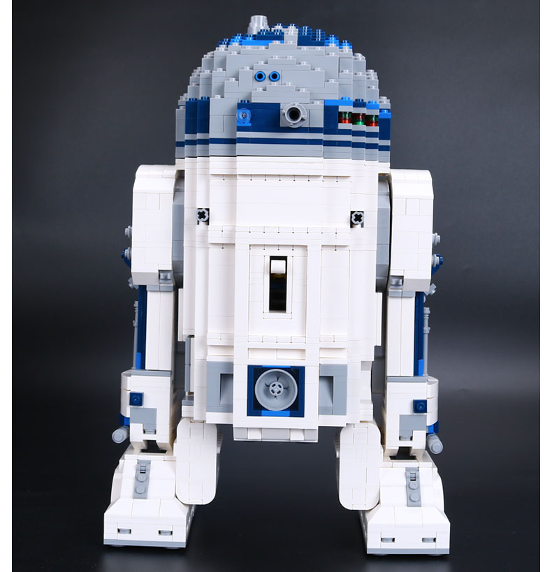 CUSTOM 05043 Building Blocks Toys Star Wars R2-D2 Building Brick Sets