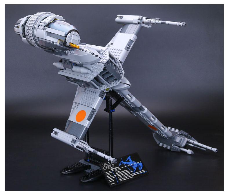 CUSTOM 05045 Building Blocks Star Wars B-Wing Starfighter Building Brick Sets