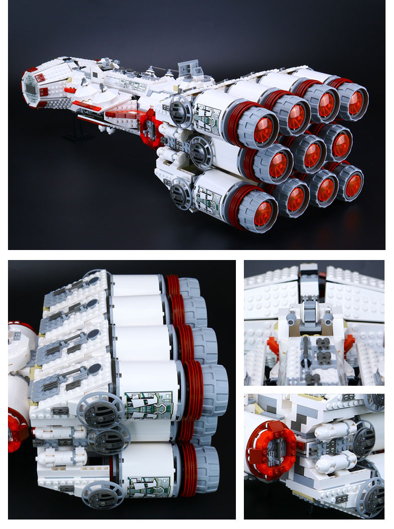 CUSTOM 05046 Building Blocks Rebel Blockade Runner Building Brick Sets
