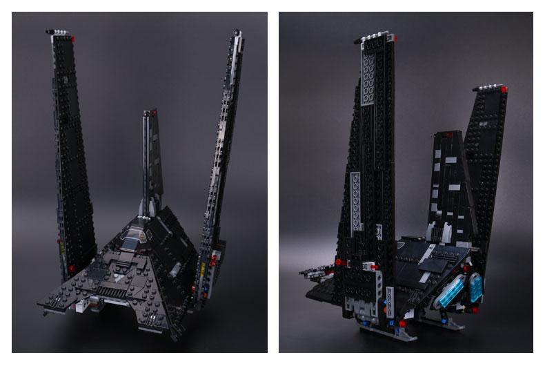 CUSTOM 05049 Building Blocks Krennic's Imperial Shuttle Building Brick Sets