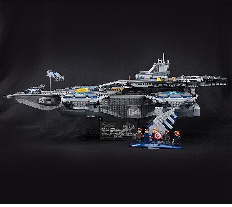 LEPIN 24011 Building Blocks Toys Avengers The SHIELD Helicarrier Brick Sets