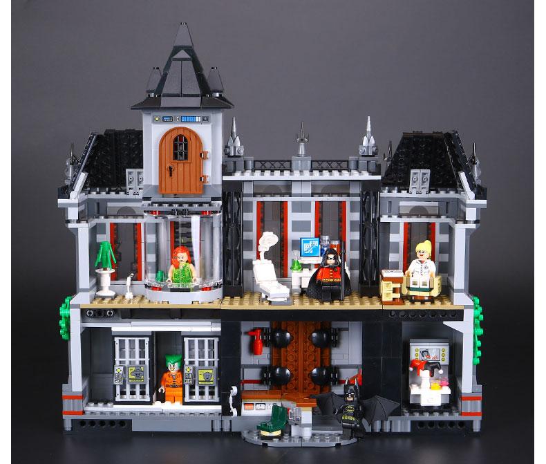 LEPIN 07044 Building Blocks Toys Batman Arkham Asylum Breakout Brick Sets