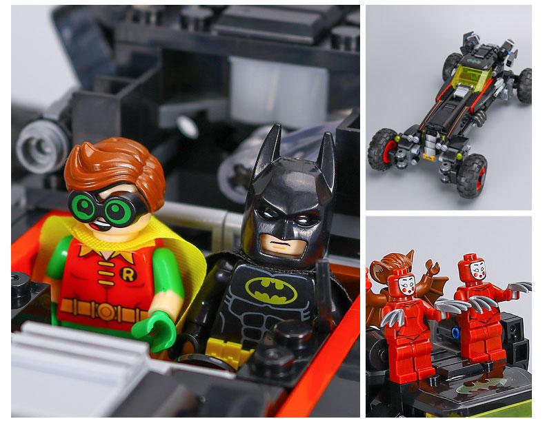 LEPIN 07045 Building Blocks Toys The Batmobile Brick Sets
