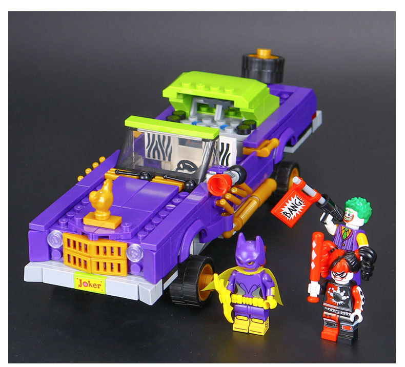 LEPIN 07046 Building Blocks Toys The Jokers Notorious Lowrider Building Brick Sets