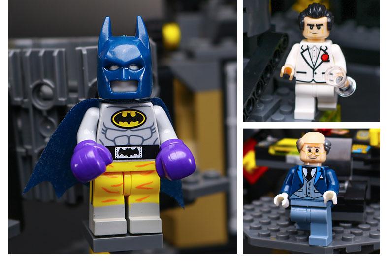 LEPIN 21010 Building Blocks Toys Batman Batcave Break In Building Brick Sets