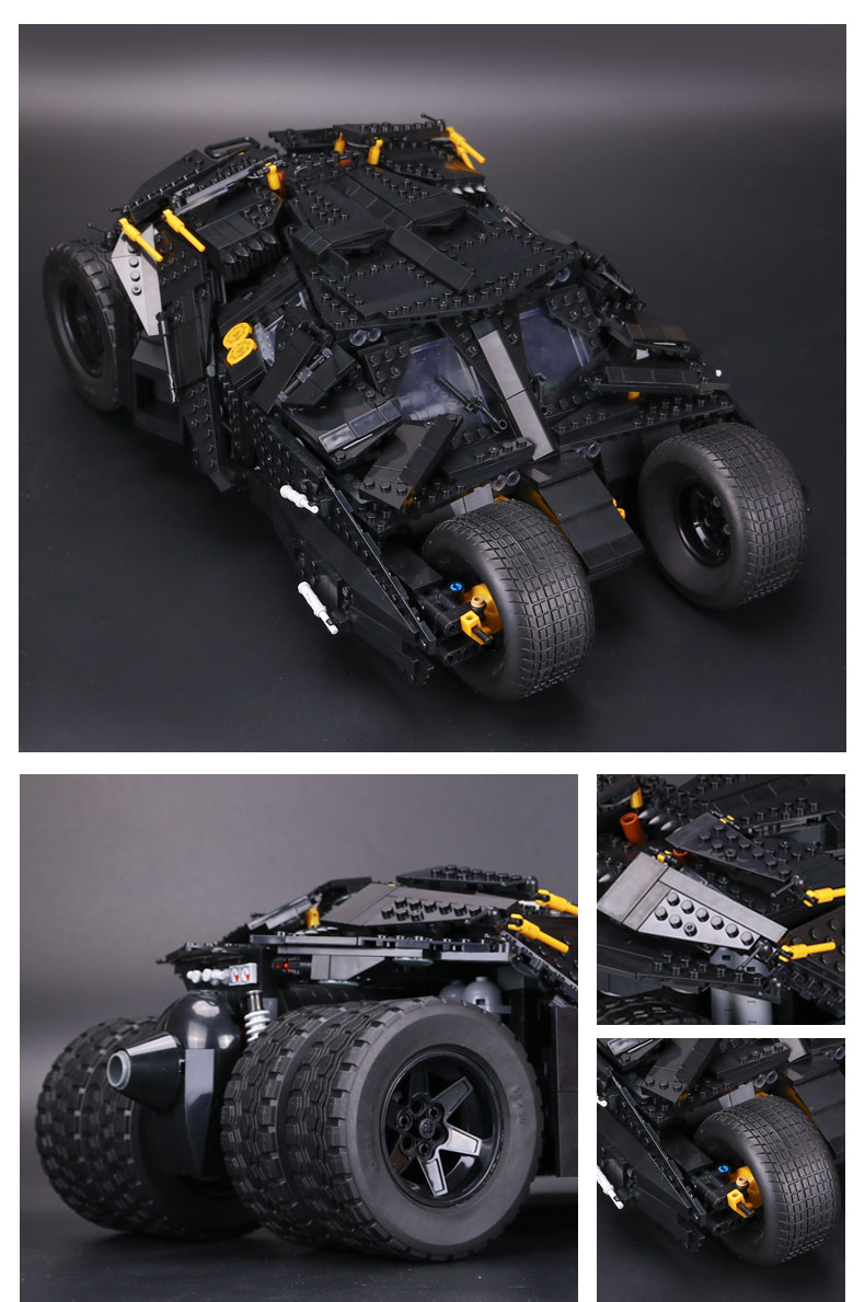 CUSTOM 07060 Building Blocks Toys Super Escort The Tumbler Building Brick Sets