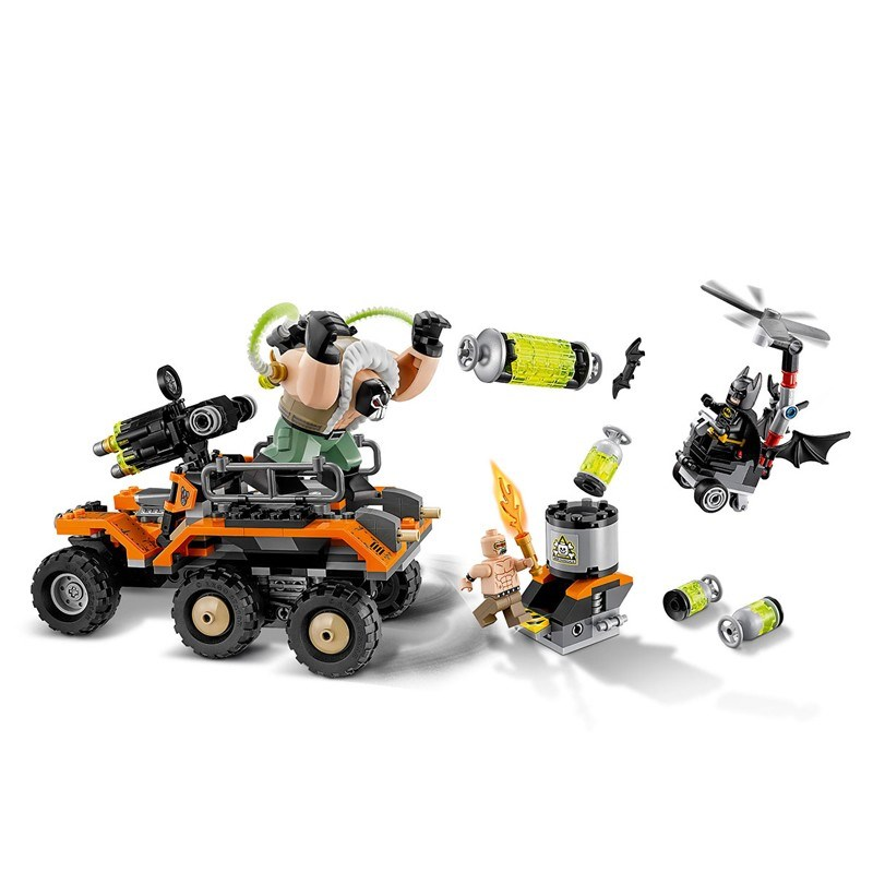 LEPIN 07081 Building Blocks Toys Bane Toxic Truck Attack Building Brick Sets