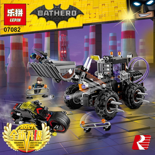 LEPIN 07082 Building Blocks Toys Two-Face Double Demolition Building Brick Sets