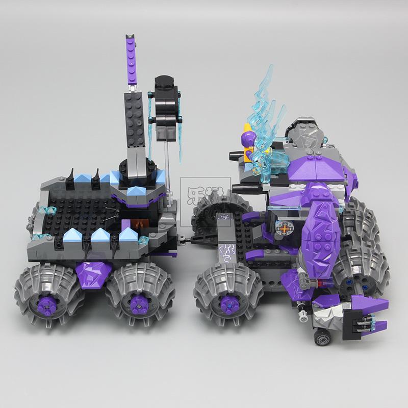 LEPIN 14031 Building Blocks Toys HeNexo Knights Jestros adquarters Building Brick Sets