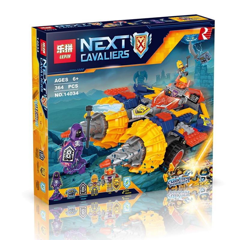 LEPIN 14034 Building Blocks Axl's Rumble Maker Building Brick Sets
