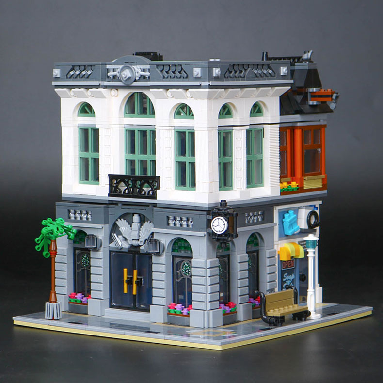 CUSTOM 15001 Building Blocks Brick Bank Building Brick Sets