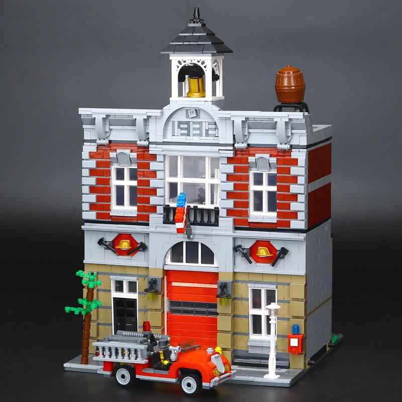 CUSTOM 15004 Fire Brigade Building Bricks Set