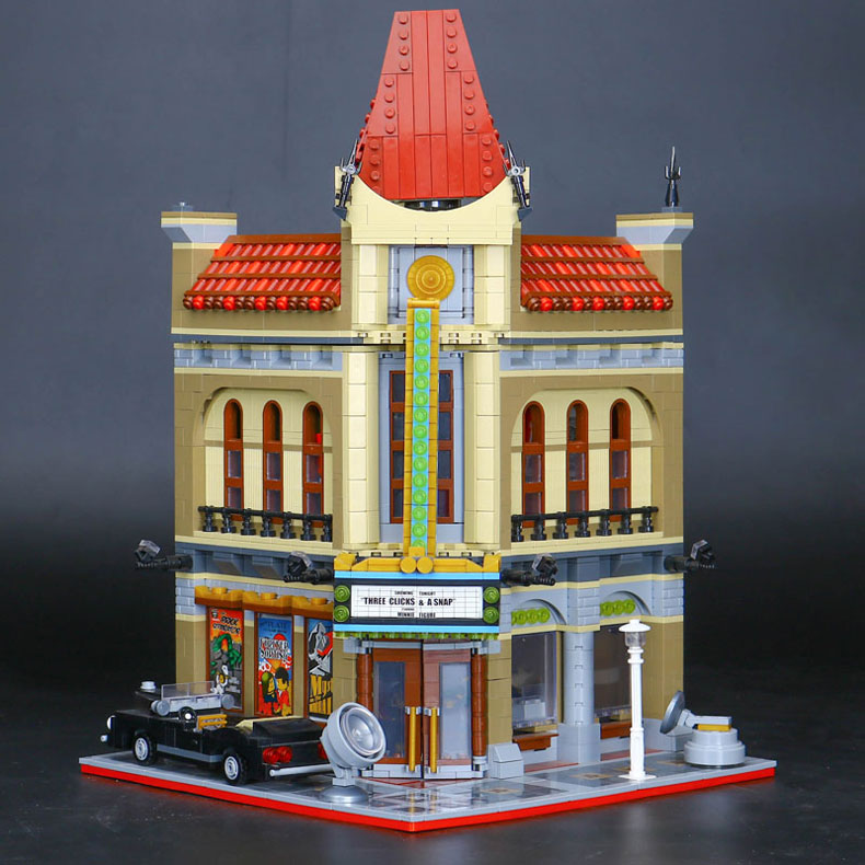 CUSTOM 15006 Palace Cinema Building Bricks Set