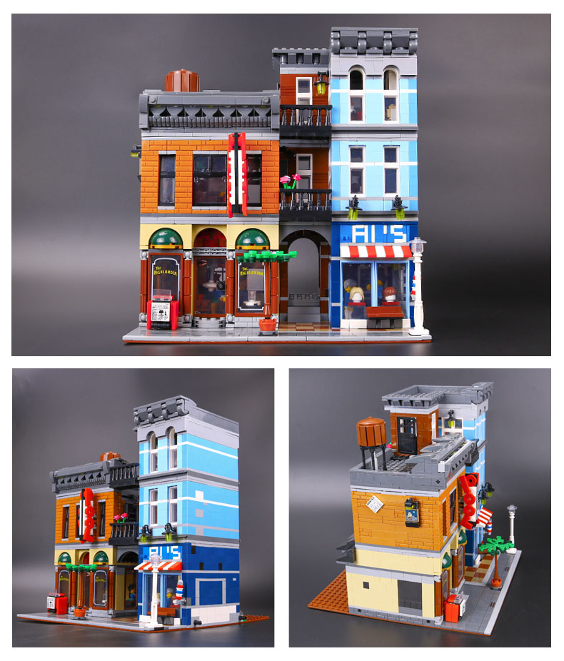 LEPIN 15011 Creator Expert Detective's Office Building Bricks Set