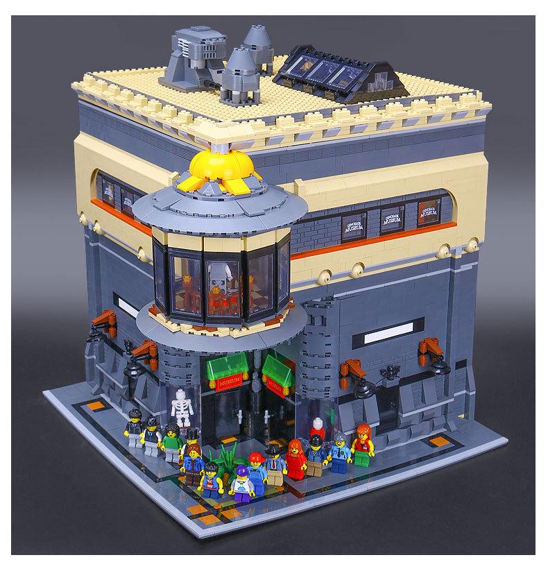 LEPIN 15015 Building Blocks MOC Dinosaur Museum Building Brick Sets