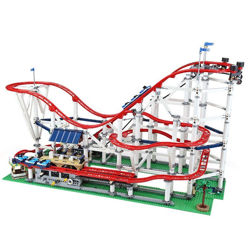 CUSTOM 15039 Creator Expert Roller Coaster Building Bricks Set