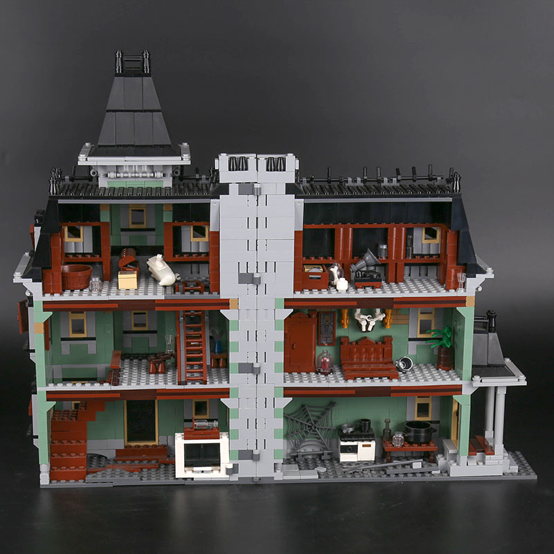 CUSTOM 16007 Building Blocks Toys Haunted House Building Brick Sets