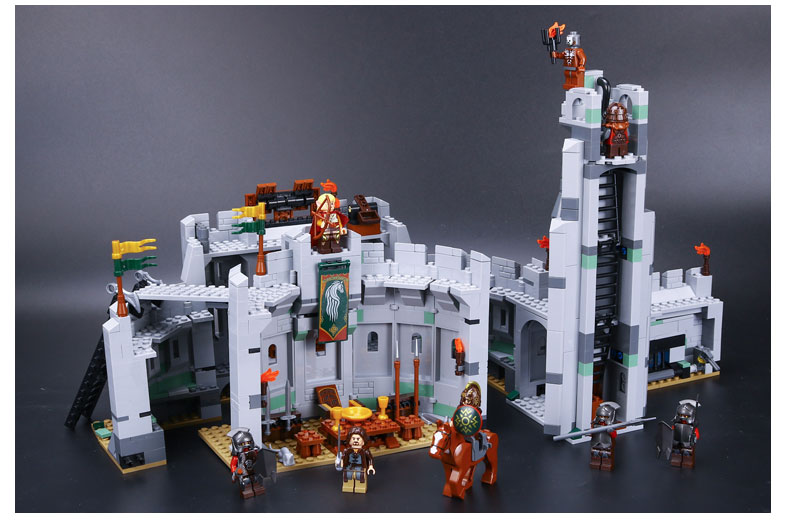 LEPIN 16013 Building Blocks The Battle of Helm's Deep Building Brick Sets