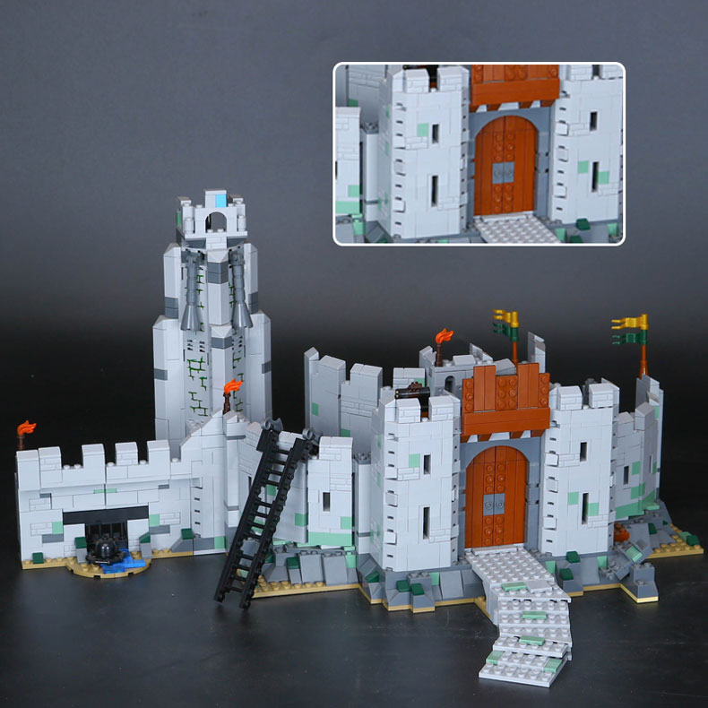 CUSTOM 16013 Building Blocks The Battle of Helm's Deep Building Brick Sets
