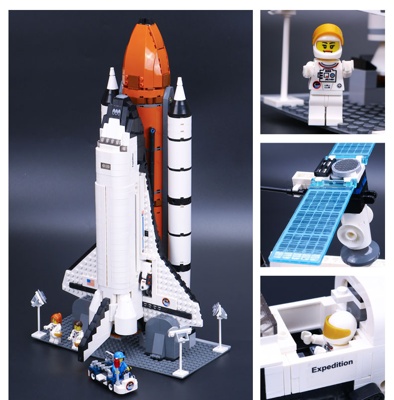 LEPIN 16014 Building Blocks Toys Shuttle Expedition Building Brick Sets