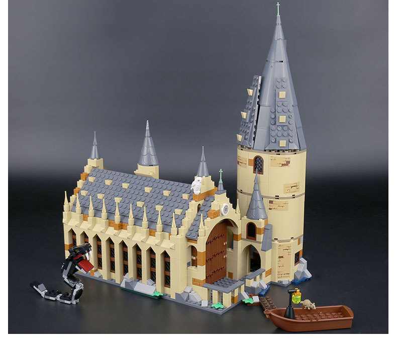 CUSTOM 16052 Hogwarts Great Hall Building Bricks Set