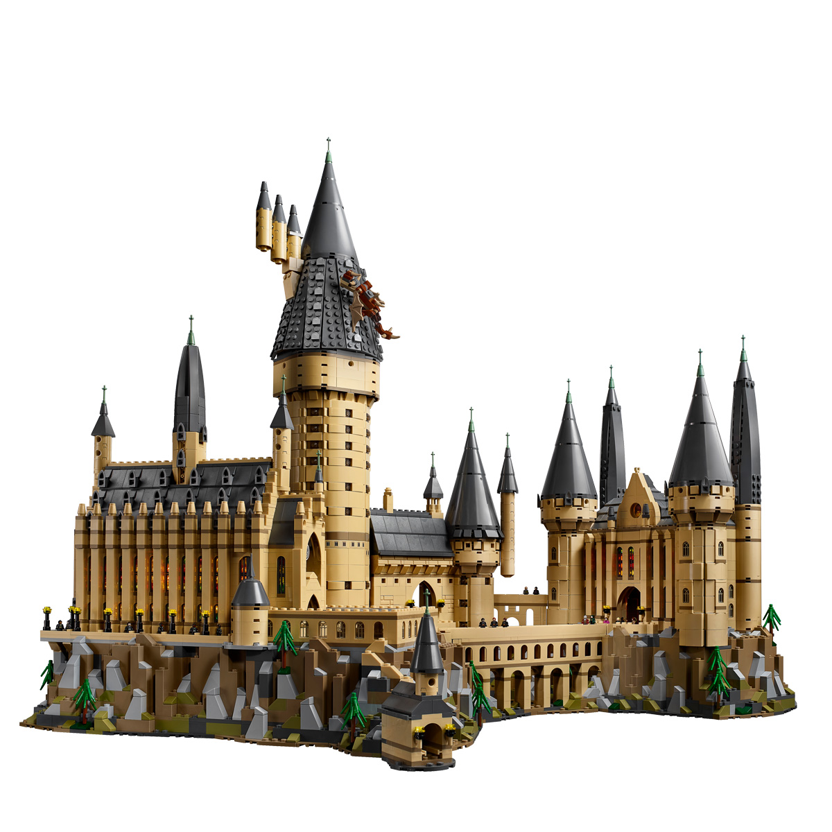 LEPIN 16060 Hogwarts Castle Building Bricks Set