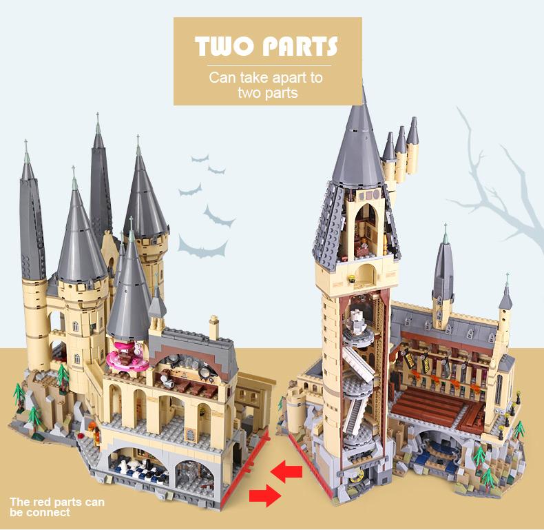 LEPIN 16060 Hogwarts Castle Building Bricks Set
