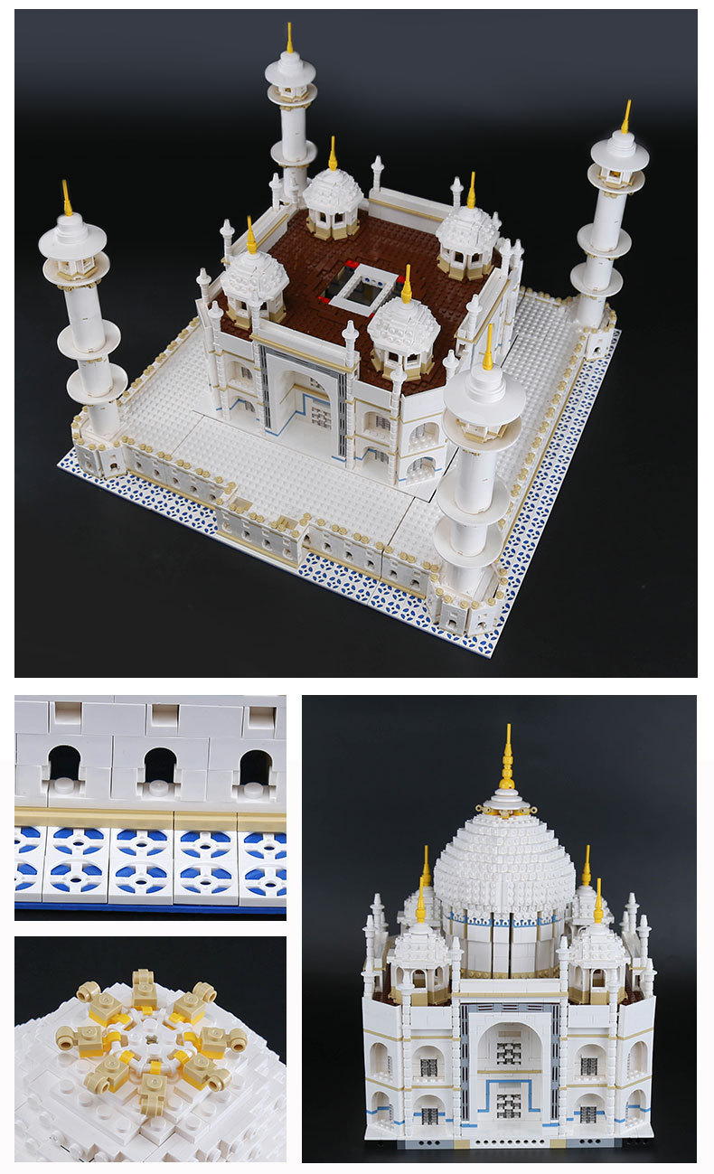 LEPIN 17001 Building Blocks Toys Taj Mahal Building Brick Sets