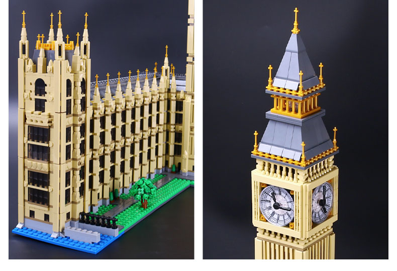 CUSTOM 17005 Building Blocks Buildings Big Ben Building Brick Sets