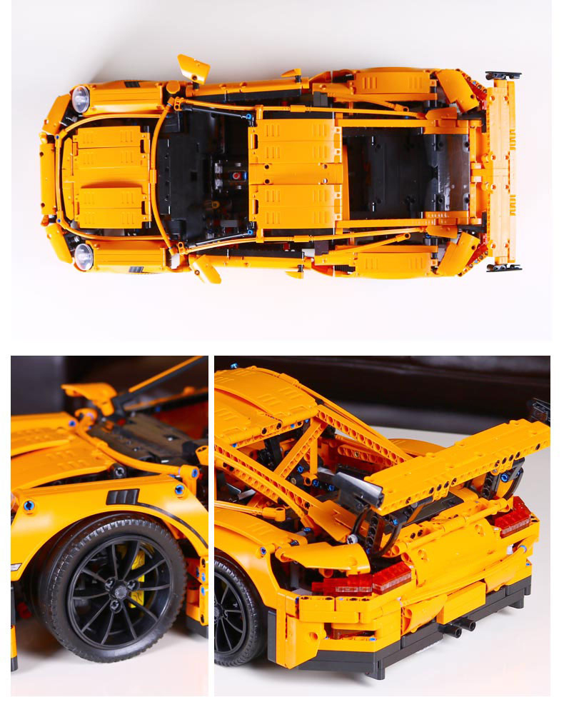 LEPIN 20001 Building Blocks Toys Technic Porsche 911 GT3 RS Building Brick Sets