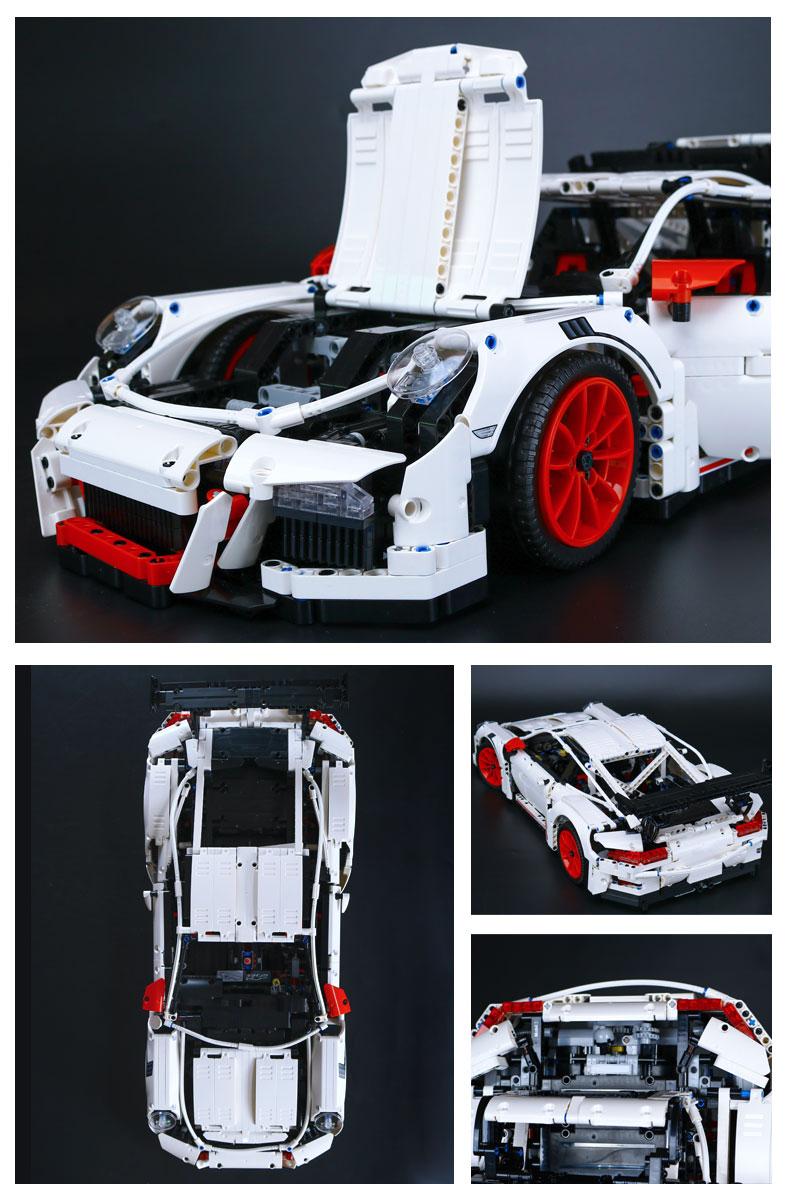 LEPIN 20001B Building Blocks Toys Technic Porsche 911 GT3 RS Building Brick Sets