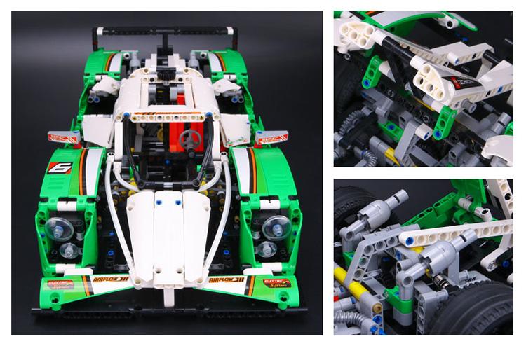 CUSTOM 20003 Building Blocks Toys 24 Hours Race Car Building Brick Sets