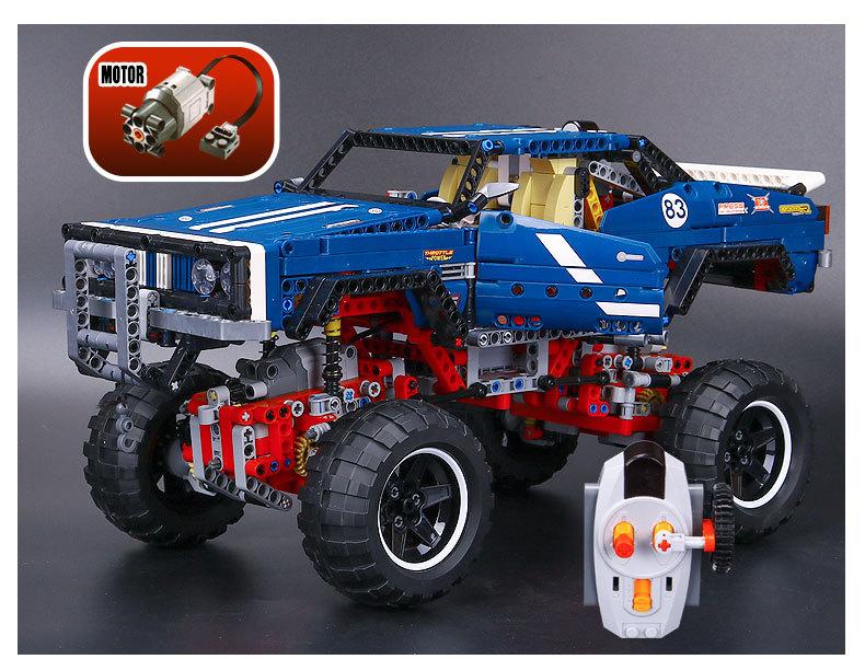 CUSTOM 20011 Building Blocks Toys Technic 4x4 Crawler Exclusive Edition Building Brick Sets