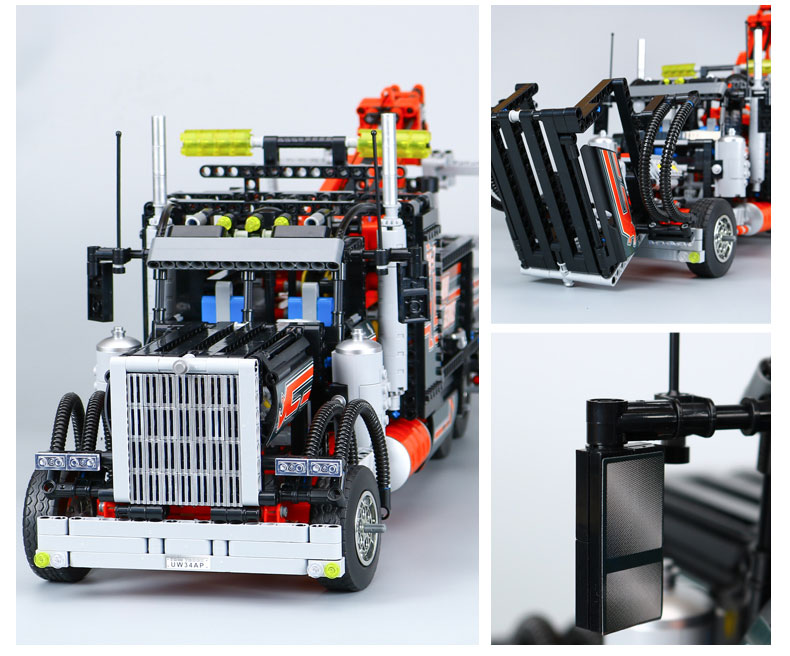 CUSTOM 20020 Building Blocks Toys Technic Tow Truck Building Brick Sets