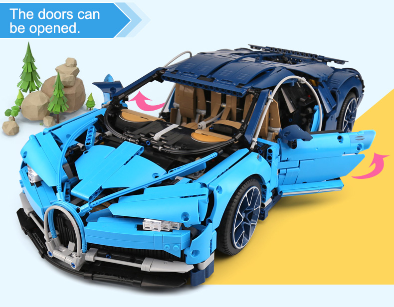 LEPIN 20086 Set Technic Bugatti Chiron Building Toys Compatible Building Blocks