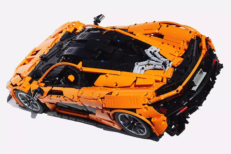 CUSTOM 20087 McLaren P1 MOC Sports Car Building Bricks Set