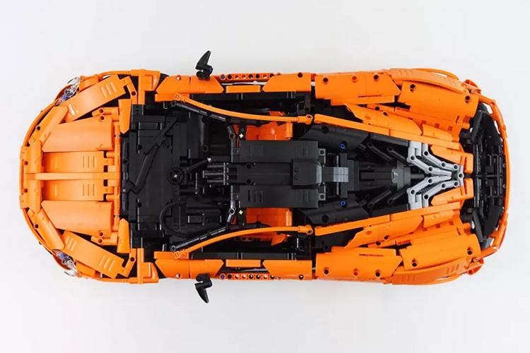 LEPIN 20087 McLaren P1 MOC Sports Car Building Bricks Set