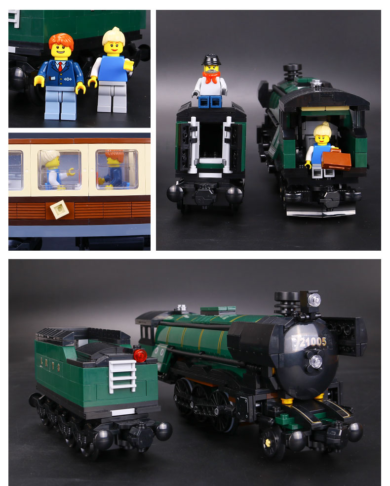 CUSTOM 21005 Emerald Night Building Bricks Set