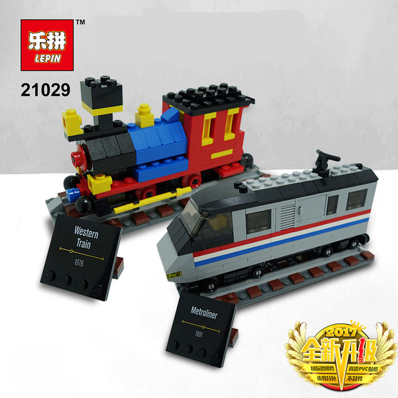 LEPIN 21029 Building Blocks Toys 50 Years on Track Building Brick Sets