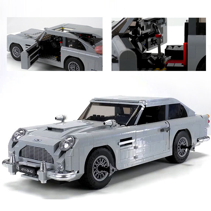 LEPIN 21046 James Bond Aston Martin DB5 Building Bricks Set