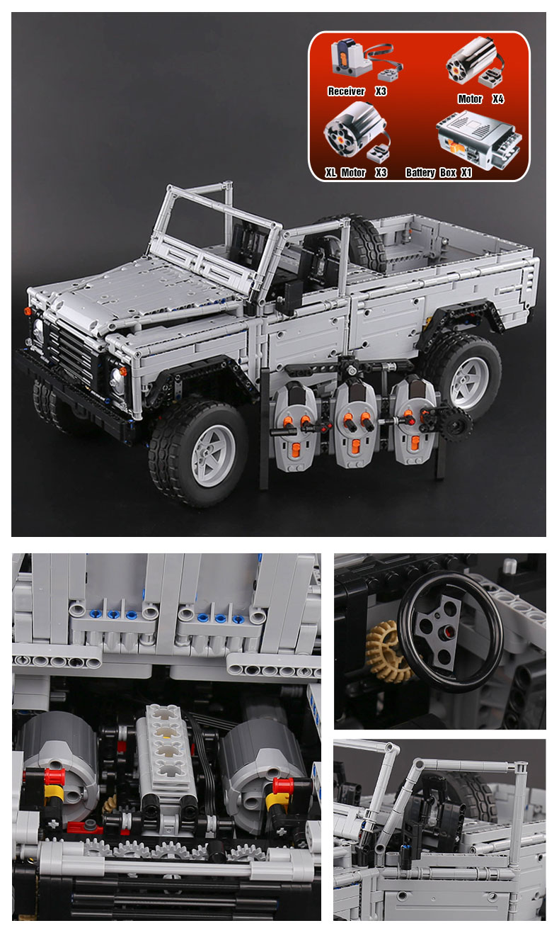LEPIN 23003 Wild Off Road Vehicles MOC Building Bricks Set