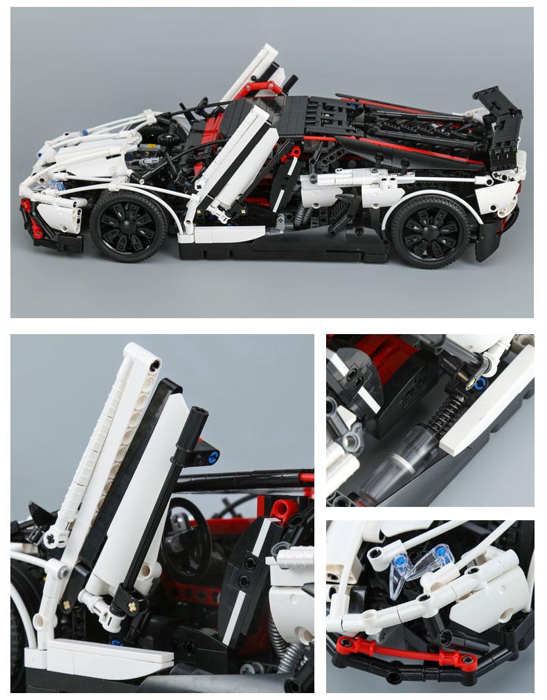 LEPIN 23006 MOC Lamborghini Aventador LP 720-4 Building Toys Compatible Building Blocks