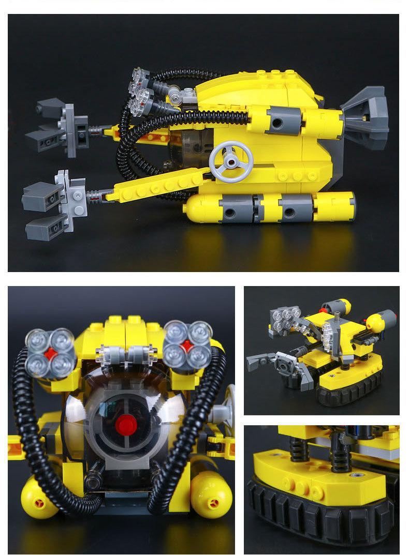 LEPIN 24012 Building Blocks Toys Creator Underwater Exploration Building Brick Sets