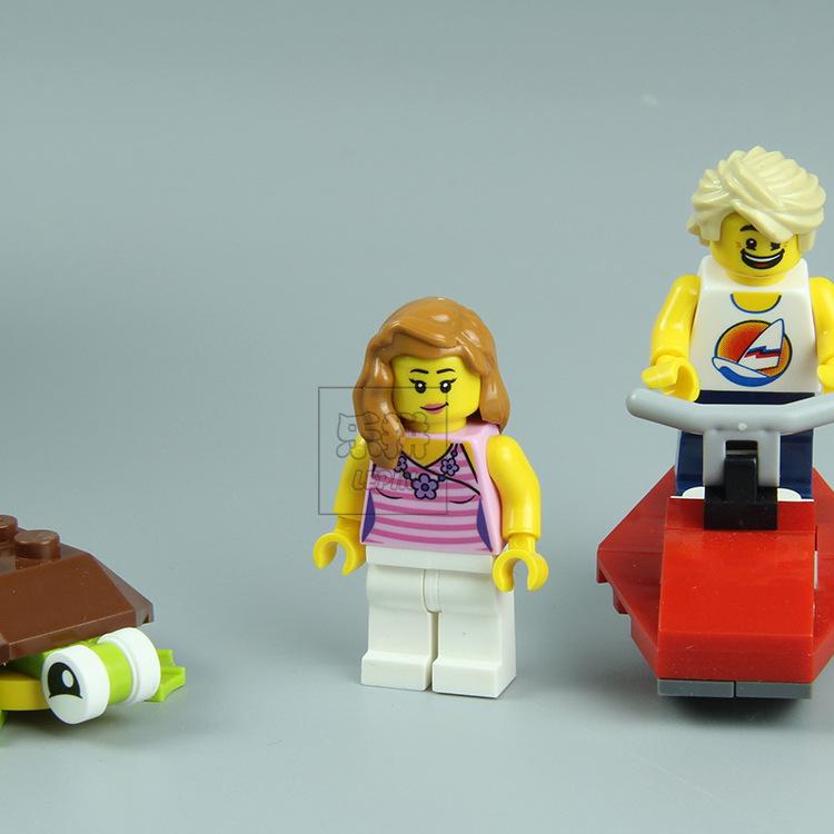 LEPIN 24014 Building Blocks Toys Creator Beachside Vacation Building Brick Sets